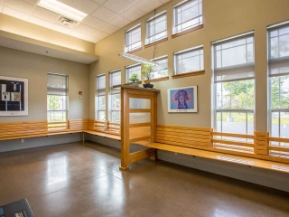 Waiting Area at Jefferson Veterinary Hospital